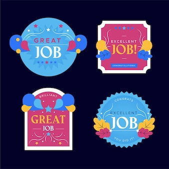 좋은 직업과 좋은 직업 스티커