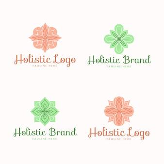 Коллекция плоских рисованных логотипов