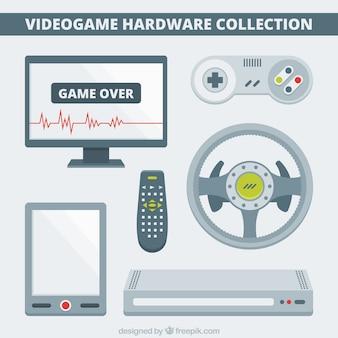 비디오 게임을위한 플랫 하드웨어