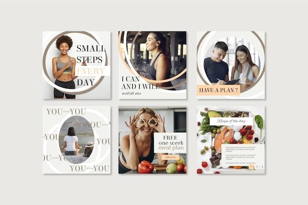 Коллекция постов о здоровье и фитнесе с фото