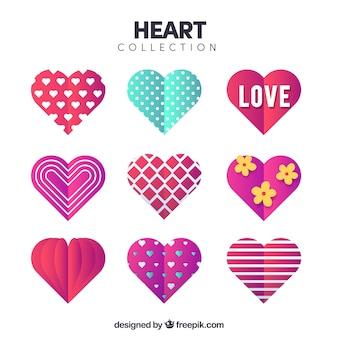 フラット心臓コレクション