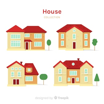 Flat house collection