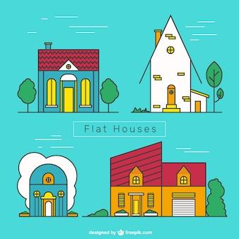 플랫 하우스 팩