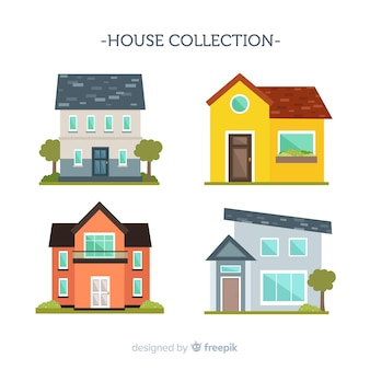 Flat housing collection