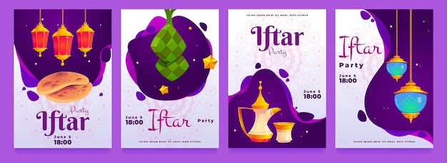 Flat iftar instagram stories collection