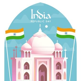 Flat indian republic day
