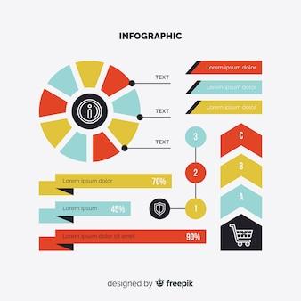 Плоская инфографика