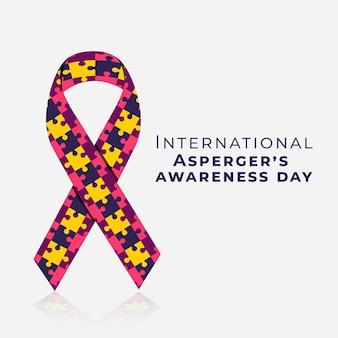 Плоский международный день осведомленности аспергера
