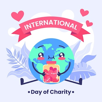 Flat international day of charity