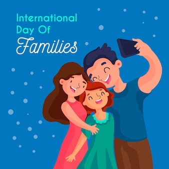 Flat international day of families
