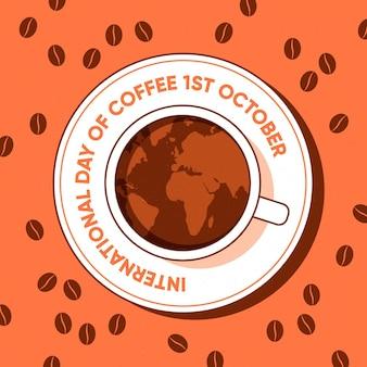Плоский международный день кофе