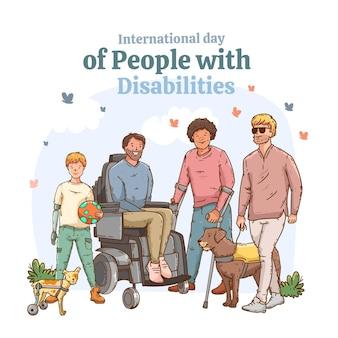 장애인의 평평한 국제 날