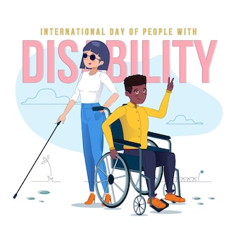 Flat international day of people with disability