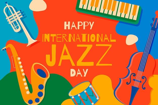 Flat international jazz day