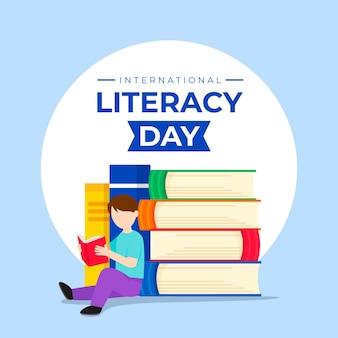 Flat international literacy day