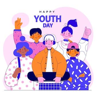 Плоский международный день молодежи
