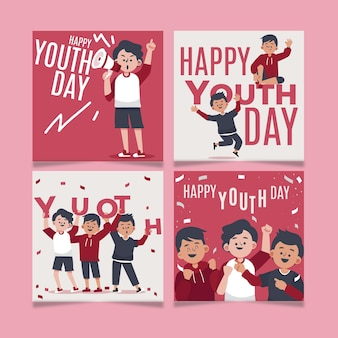 플랫 국제 청소년의 날 게시물 모음