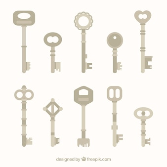 Flat keys collection