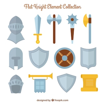 Flat knight element collection