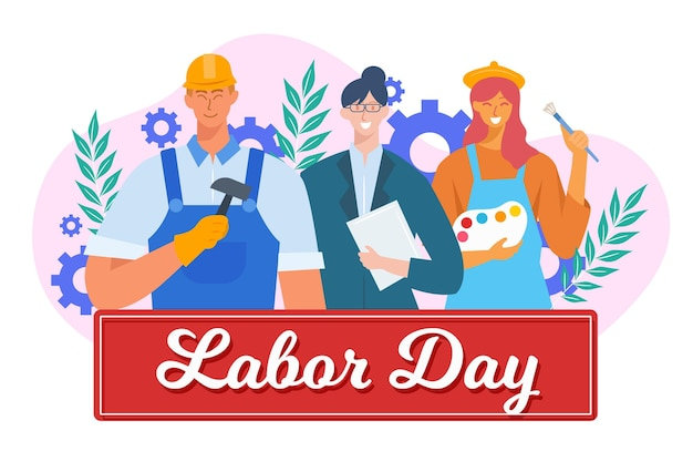 Flat labor day sale usa