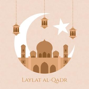 평면 laylat al-qadr 그림