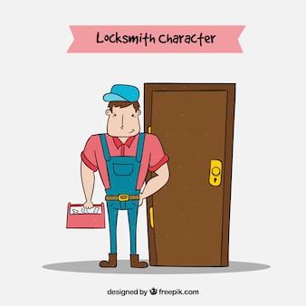 Flat locksmith character