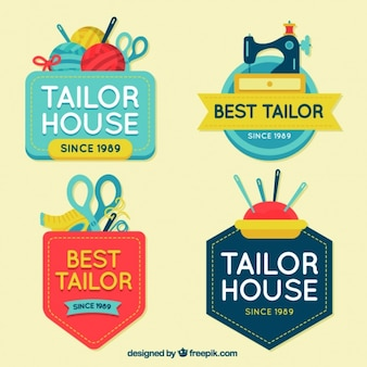 Flat logos for crafts