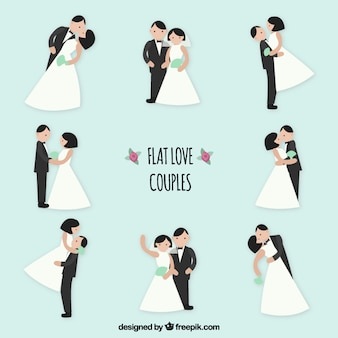 Flat love couples pack