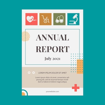 Flat medical annual report