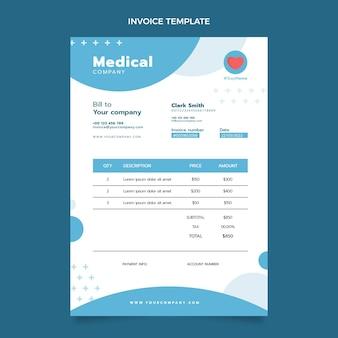Плоский медицинский счет