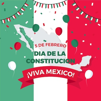 Flat mexico constitution day event