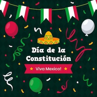 Плоский день конституции мексики