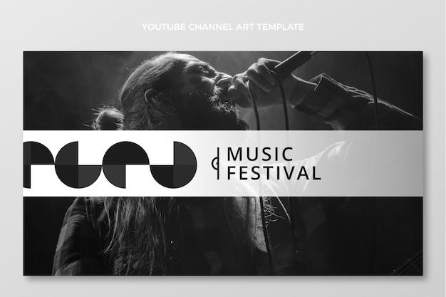 Плоский минимальный музыкальный фестиваль youtube channe