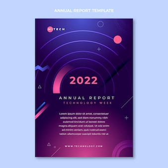 Flat minimal technology annual report