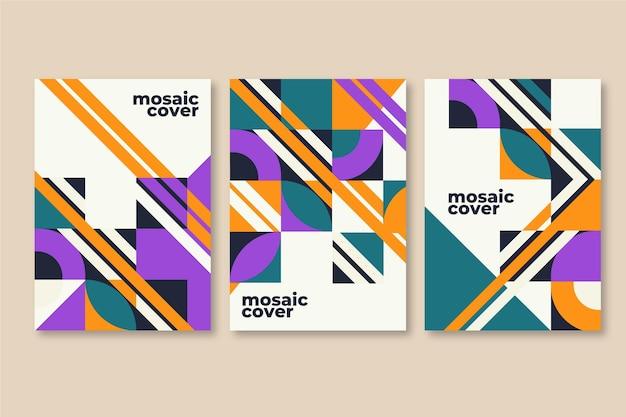 Flat mosaic covers