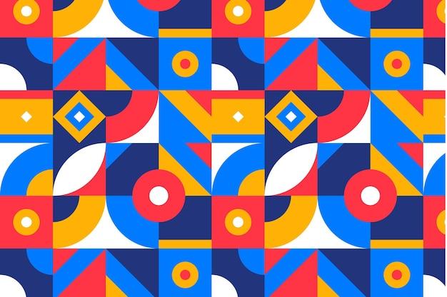 평면 모자이크 패턴 디자인