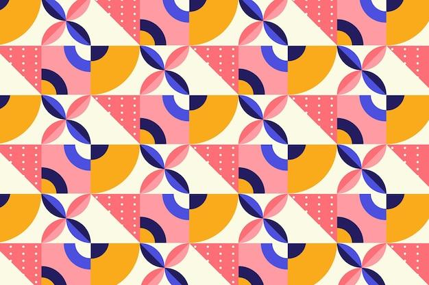 Плоский дизайн мозаики