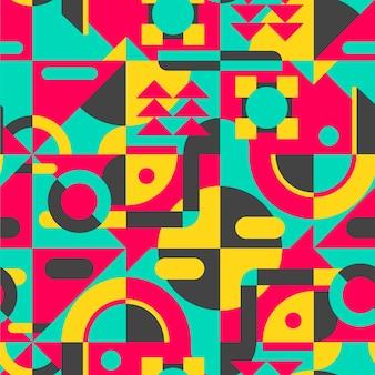 フラットモザイクパターン