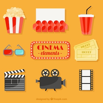 Flat movie accesory collection