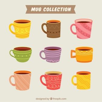 Flat mug collection