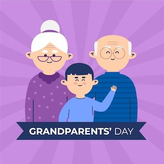 Плоский национальный день бабушек и дедушек сша