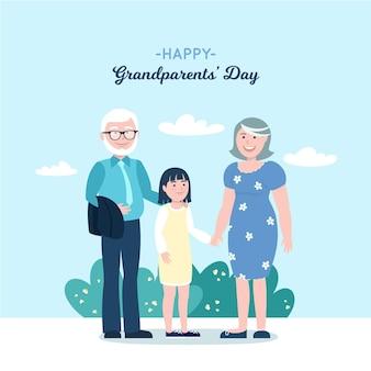 Плоский национальный день бабушки и дедушки сша
