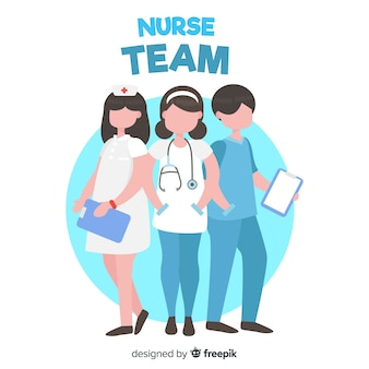 플랫 간호사 팀