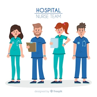 Flat nurse team