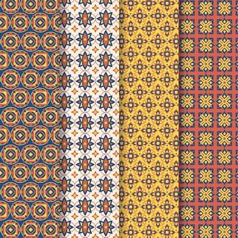 평면 장식 아랍어 패턴 컬렉션