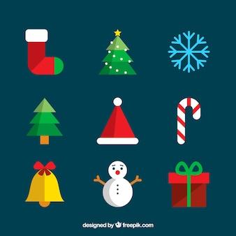 Confezione regolare di accessori natali