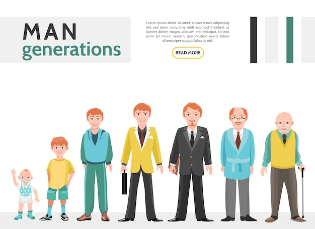Flat people generation collection