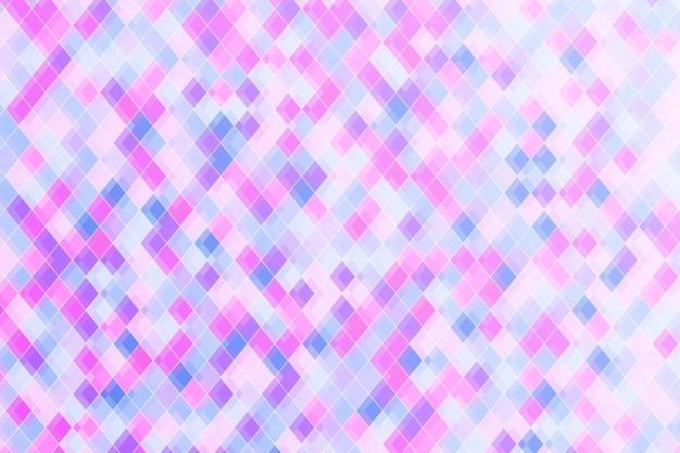 平らな多角形の背景