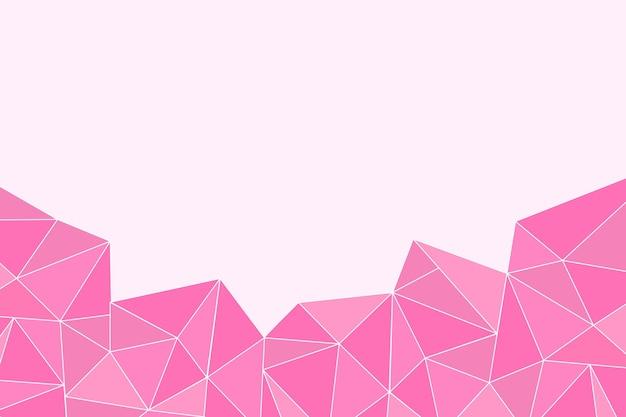 Плоский многоугольный фон