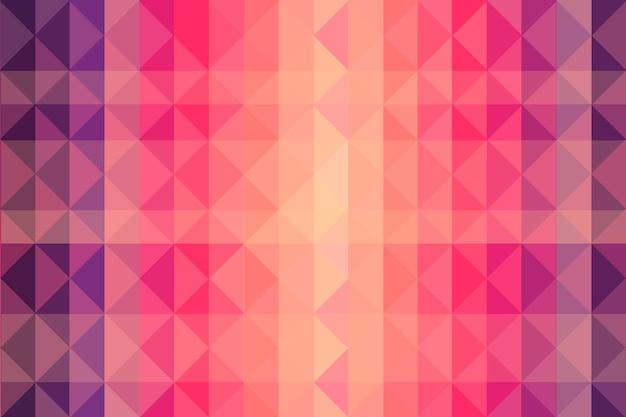 Flat polygonal background